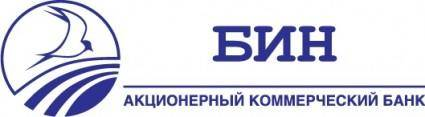 free vector BIN bank logo