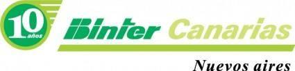 free vector Binter Canarias logo