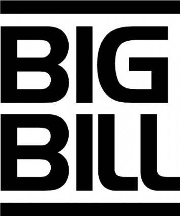 free vector Big Bill logo