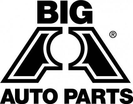 Big auto parts logo
