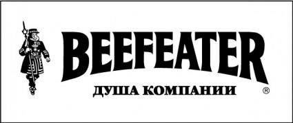 free vector Beefeater b&w logo