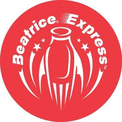 free vector Beatrice Express logo
