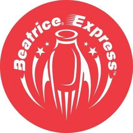 free vector Beatrice Express logo