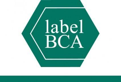free vector BCA label
