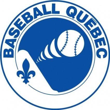free vector Baseball Quebec