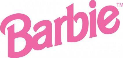 free vector Barbie logo