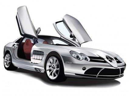 free vector Mercedes Benz SLR McLaren