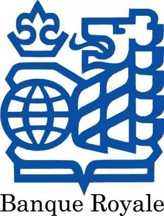 free vector Banque Royale logo