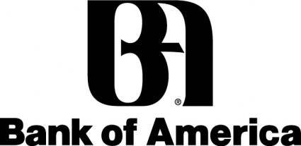 free vector Bank of America logo