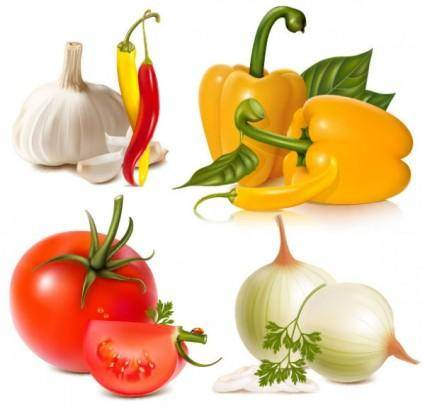 free vector Vegetables image 01 vector