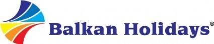 free vector Balkan Holidays logo