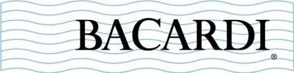 Bacardi white logo