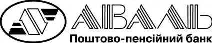 AVAL bank logo in UKRAINIAN
