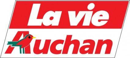 free vector Auchan logo