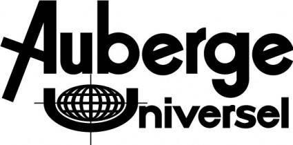 free vector Auberge Universelle logo
