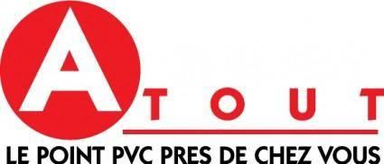 free vector Atout logo