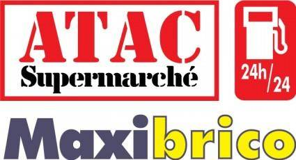 free vector ATAC Supermarche logo