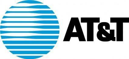 free vector AT&T Hor logo