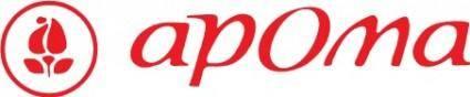 free vector Aroma logo