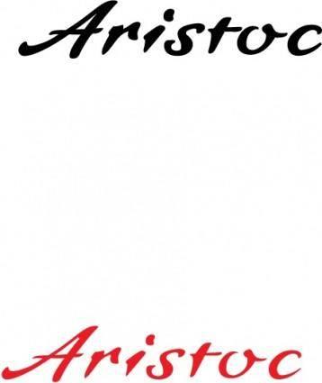 free vector Aristoc logo