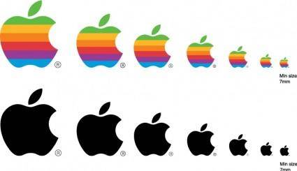 free vector Apple logo