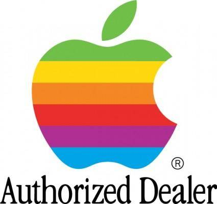 free vector Apple Auth Dealer logo