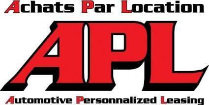 free vector APL logo
