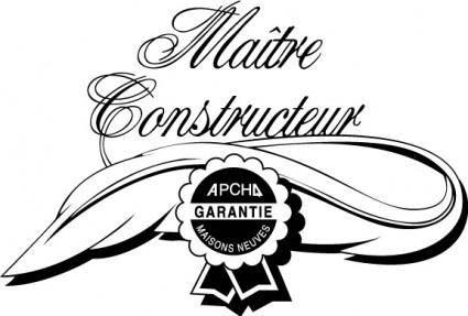 free vector APCHQ Maitre Constructeur