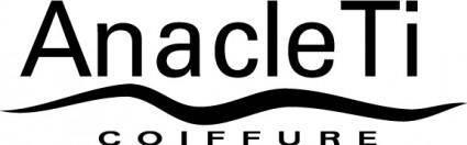 Anacleti coiffure logo