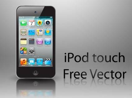 free vector Free iPod Touch Vector