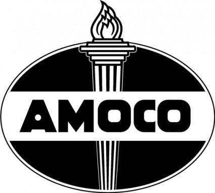 free vector Amoco logo3