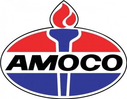 free vector Amoco logo