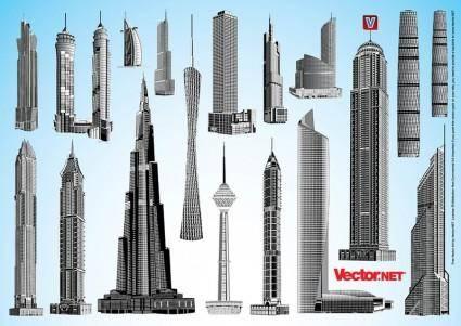 Skyscraper Vector Packs