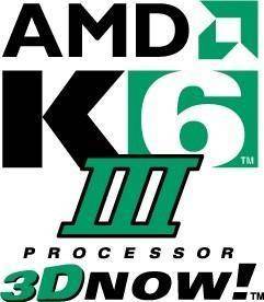 free vector AMD K6 III logo