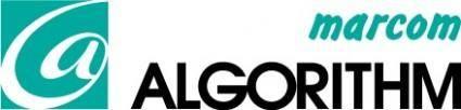 free vector Amarcom Algorithm logo