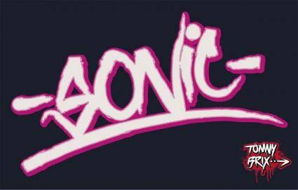 -SONIC- - design Tommy Brix