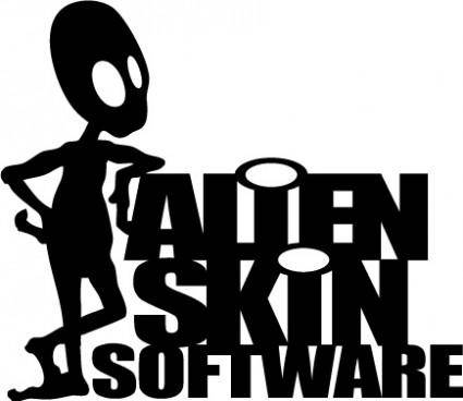 free vector Alien Skin Software logo