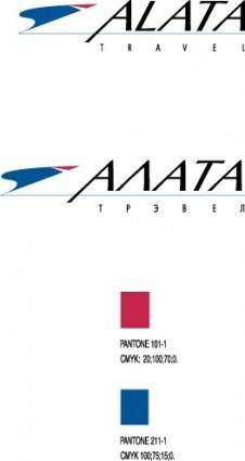 Alata travel logo