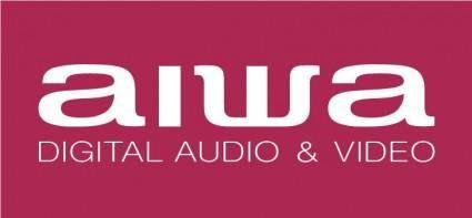 free vector AIWA logo2