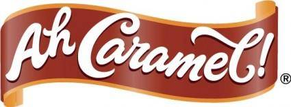 free vector Ah Caramel logo