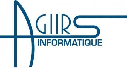 free vector Agirs Informatique logo