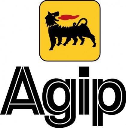 free vector Agip logo