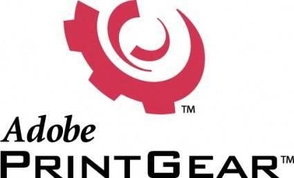 Adobe PrintGear logo