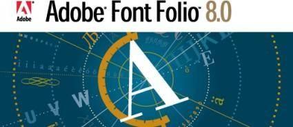 free vector Adobe Font Folio logo