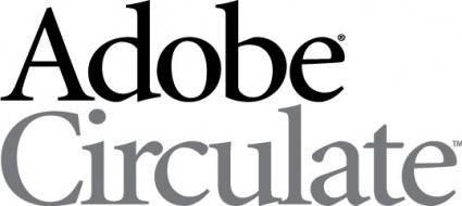 free vector Adobe Circulate logo