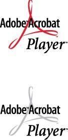 Adobe Acrobat Player logos