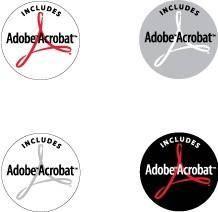 free vector Adobe Acrobat Incl logos
