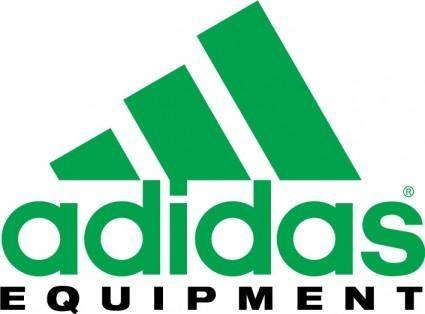 free vector Adidas equipment logo