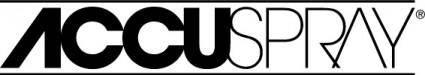 free vector Accuspray logo
