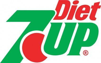 free vector 7UP Diet logo